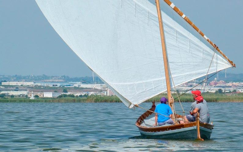 Provant barques el matí del dissabte 21 de juliol