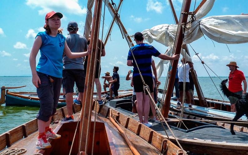 Un passeig entre amics per provar veles i aparells